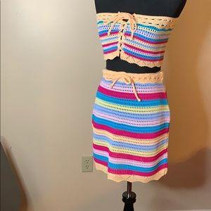 PrettyLittleThing Crochet Set